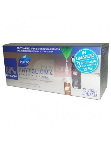 Phyto Phytolium 4 Trattamento Anticaduta Uomo da 18 Fiale
