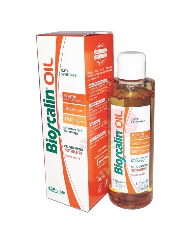 Bioscalin Oil Shampoo Nutriente per Cute Sensibile da 200ml