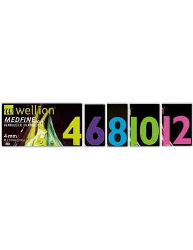 WELLION MEDFINE PLUS 10 29 GAUGE 100...
