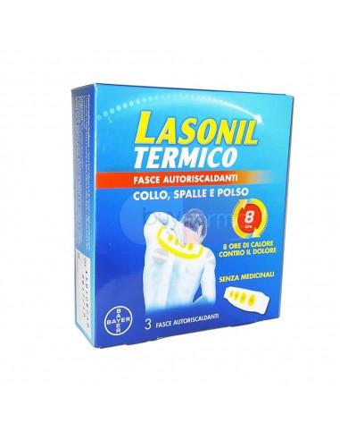qualità eccellente prodotto caldo nuovi prezzi più bassi Lasonil Termico - 3 Fasce Autoriscaldanti Collo Spalla e Polso