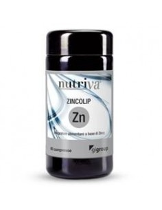 NUTRIVA ZINCOLIP 60 COMPRESSE