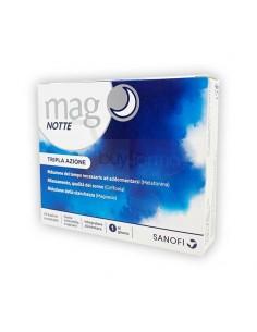 Mag Notte - 24 Bustine Integratore Sonno a base di Magnesio e Melatonina