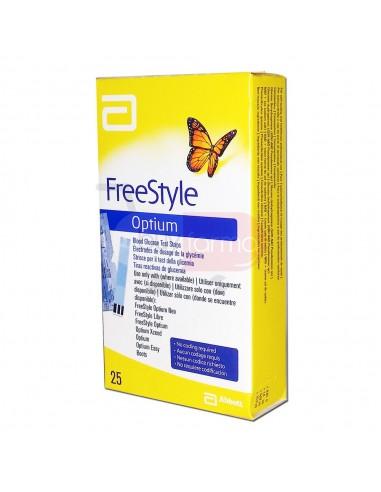 FreeStyle Optium 25 Strisce Reattive