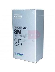 Menarini Glucocard SM 25 Strisce Reattive