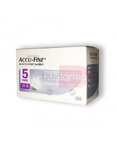 Accu-Fine 5mm 31G 100 Aghi Sterili
