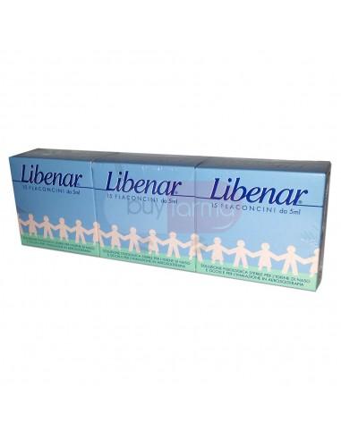 Libenar Tri Pack Soluzione Fisiologica Sterile da 45 Flaconcini