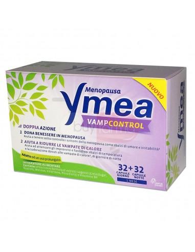 Ymea Vamp Control Integratore per Disturbi della Menopausa da 64 Cpr