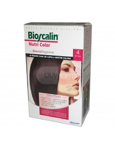 Bioscalin Nutri Color 4 Castano Colorazione con Sincrobiogenina