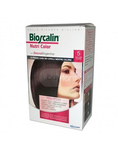 Bioscalin Nutri Color 5 Castano Chiaro Colorazione con Sincrobiogenina