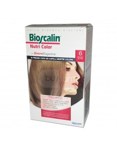 Bioscalin Nutri Color  6 Biondo Scuro Colorazione con Sincrobiogenina