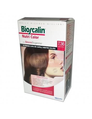 Bioscalin Nutri Color 7.36 Nocciola Colorazione con Sincrobiogenina