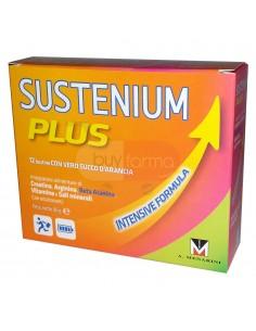 Sustenium Plus Integratore Alimentare Gusto Arancia da 12 Bustine