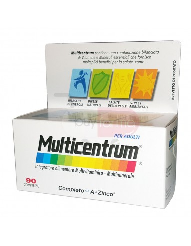 Multicentrum 90 Compresse Integratore Multivitaminico Multiminerale