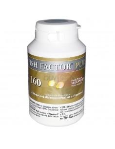Fish Factor Plus - Integratore di Omega 3 ad Alta Concentrazione da 160 Perle