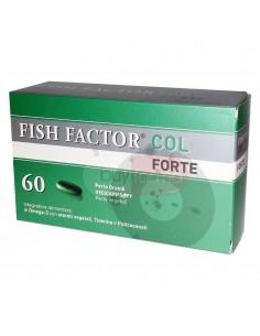 Fish Factor Col Forte Steroli Vegetali e Omega 3 per il Colesterolo da 60 Perle