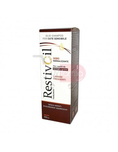 Restivoil Fisiologico - Olio Shampoo Sebonormalizzante Cute Sensibile da 250ml