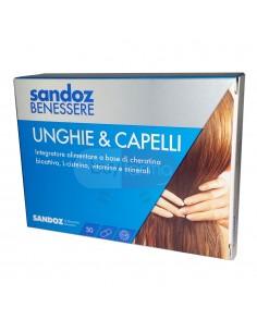 Sandoz Benessere Unghie e Capelli - 30 Capsule Integratore Alimentare