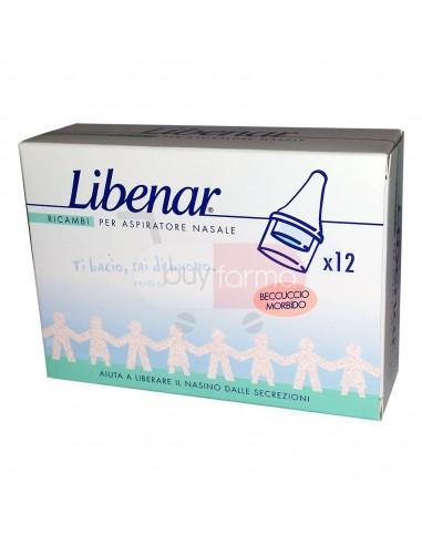 Libenar 12 Ricambi per Aspiratore Nasale per Neonati