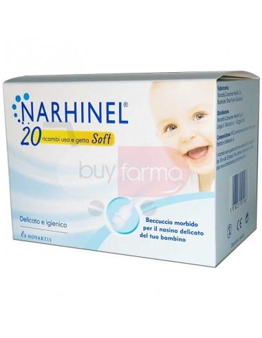Narhinel - 20 Ricambi per Aspiratore Nasale per Neonati