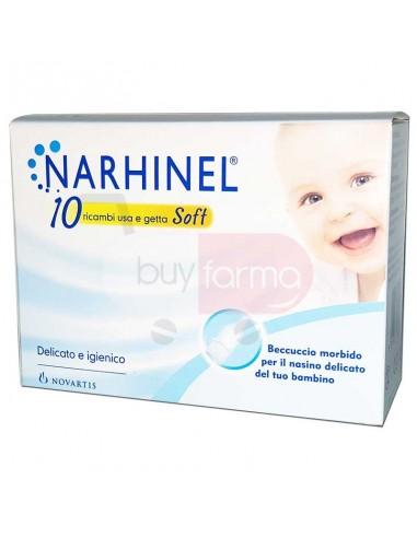 Narhinel 10 Ricambi per Aspiratore Nasale per Neonati