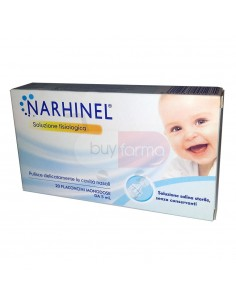 Narhinel Soluzione Fisiologica da 20 Flaconcini Monodose