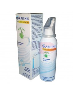 Narhinel - Spray Nasale con Aloe Vera e Acqua di Mare da 100ml