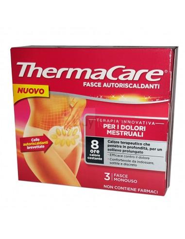 Thermacare - 3 Fasce Autoriscaldanti per i Dolori Mestruali 8 Ore
