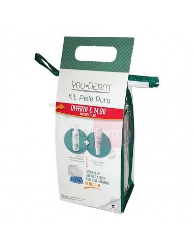 YouDerm Kit Pelle Pura - Gel Detergente Crema SIAB n-System