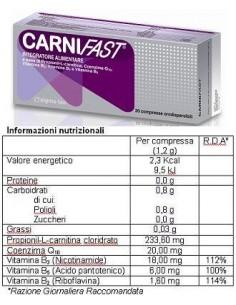 CARNIFAST 30 COMPRESSE...