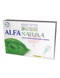 Alfa Natura - Gocce Oculari Rinfrescanti Lenitive da 10 Monodose