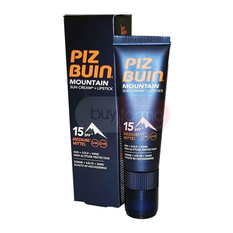Piz Buin Mountain - Crema Solare Stick Labbra SPF 15 da 20ml 2,3ml
