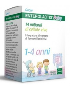 ENTEROLACTIS BABY GOCCE 8 ML