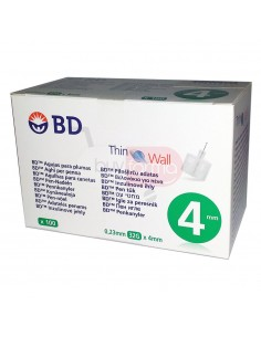 BD Thinwall 4mm 32G 100 Aghi Sterili