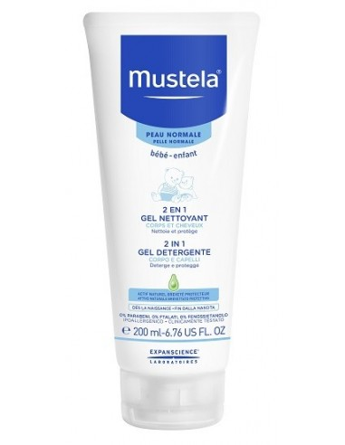 MUSTELA 2IN1 GEL DETERGENTE