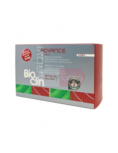 Bioclin Phydrium Advance 15 Fiale Anticaduta Uomo