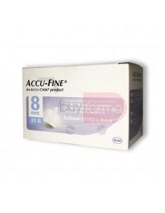 Accu-Fine 8mm 31G 100 Aghi Sterili
