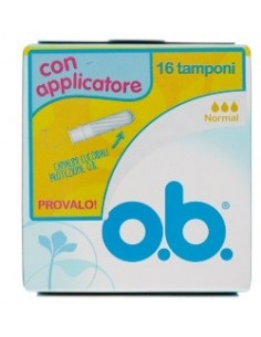 OB APPLICATORE NORMAL 16 PEZZI