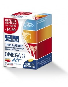 OMEGA 3 ACT 60 PERLE 540 MG