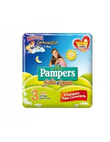PANNOLINO PER BAMBINO PAMPERS SOLE &...